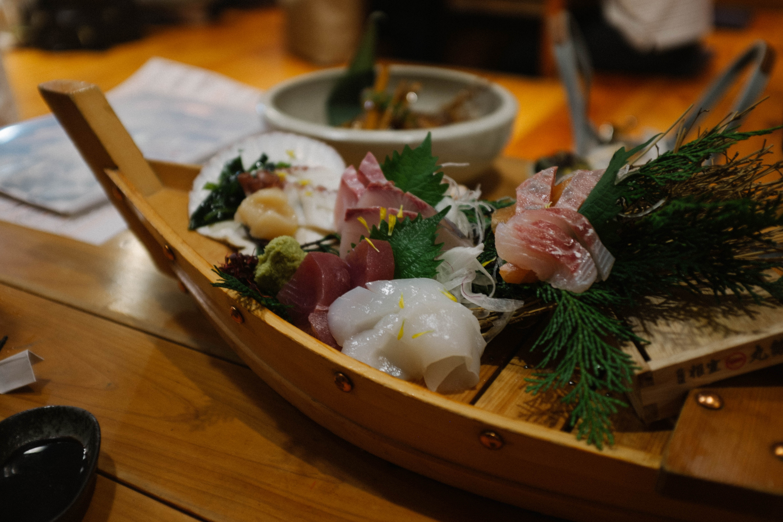 Decadent sushi.