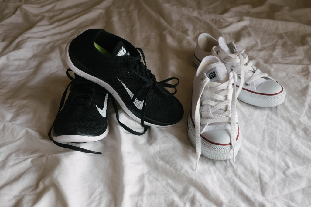 Bought both of these in Japan; the converse in Kyoto, and the Nikes in Harajuku, and I have to say that the nikes are without a shadow of a doubt *the best* shoes I have ever had. I'm actually thinking about buying another pair.