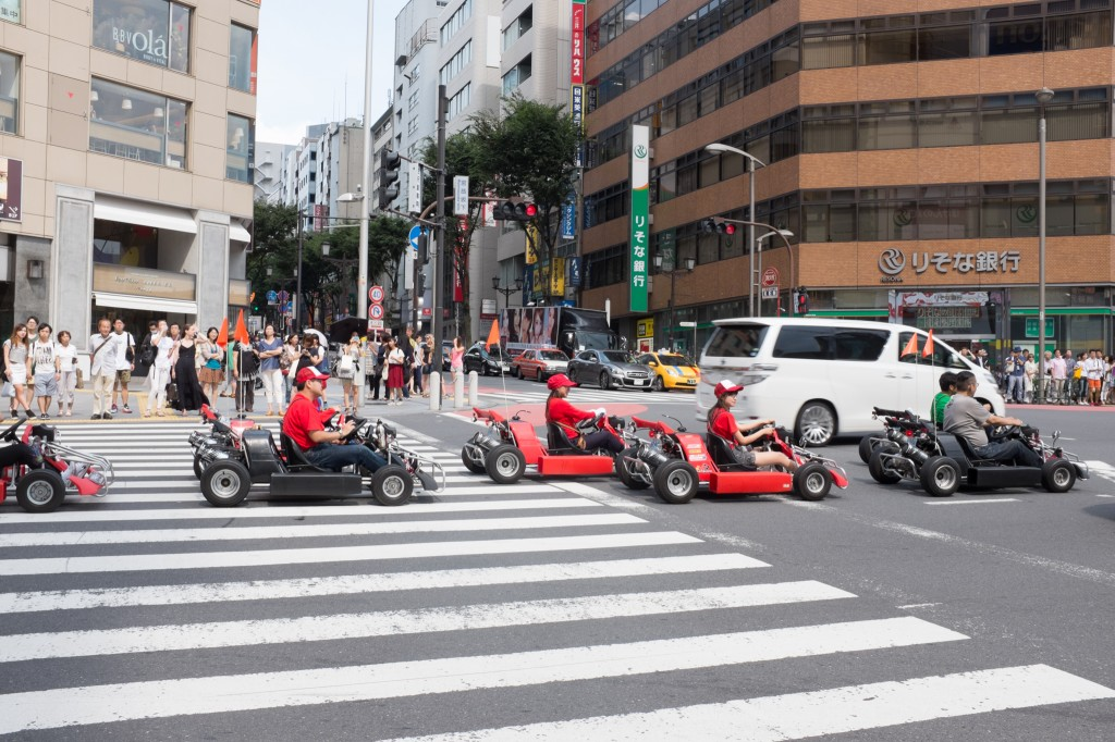 Super mario in Shinjuku!