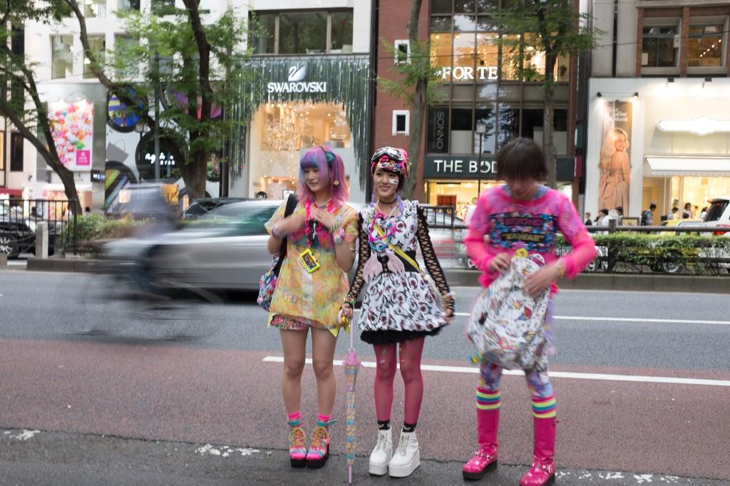 Awesome Harajuku style.