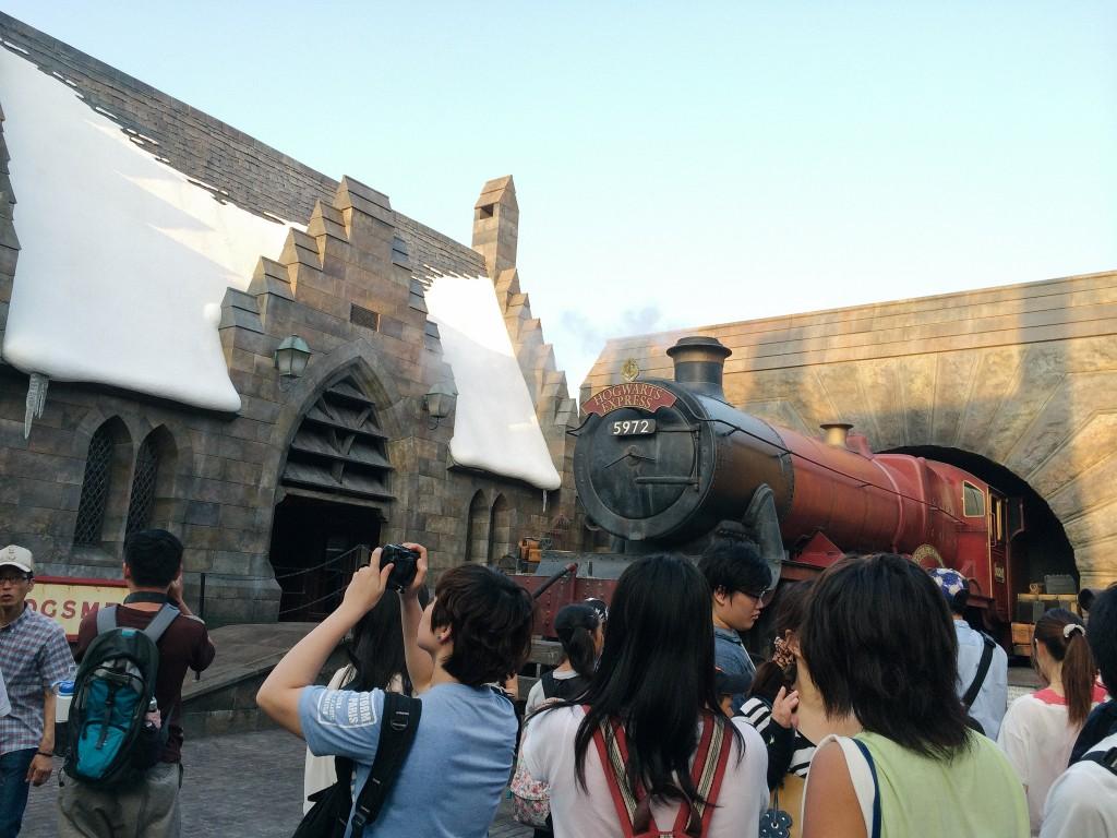 Hogwarts' express!