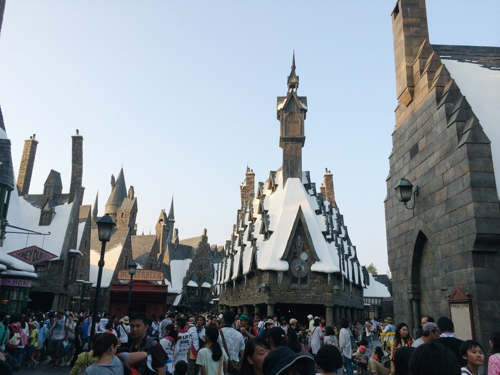 More hogsmeade.
