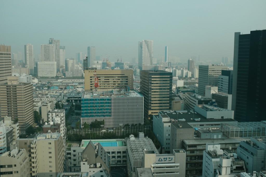 Tokyo is beautiful.