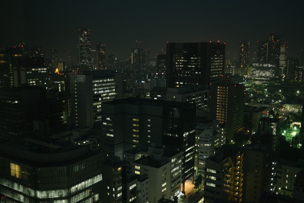 By night.