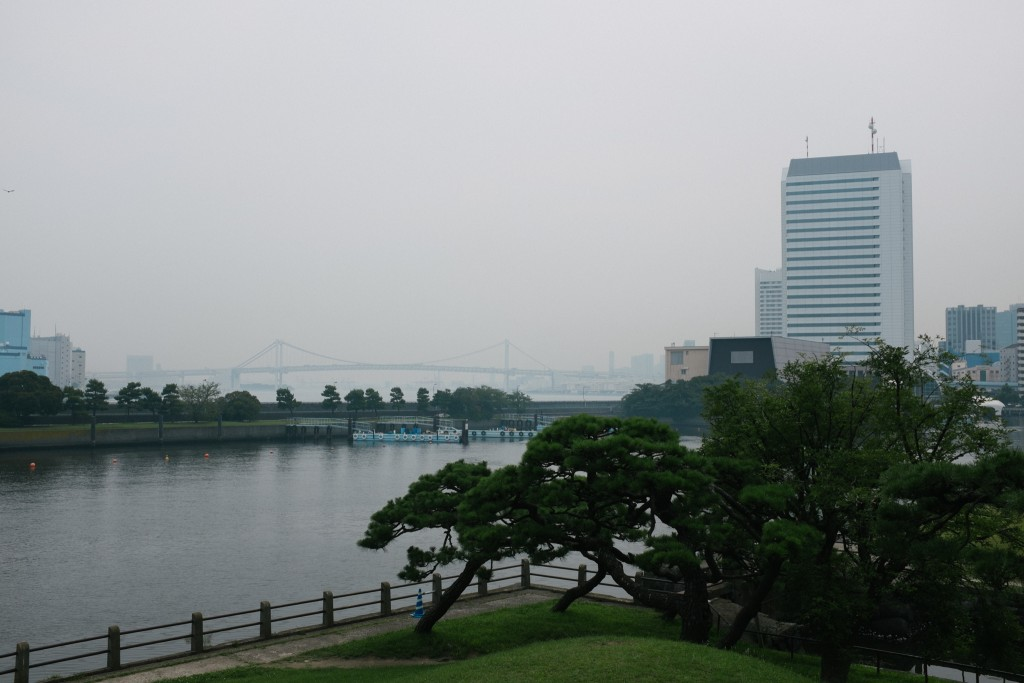 Odaiba in the distance.