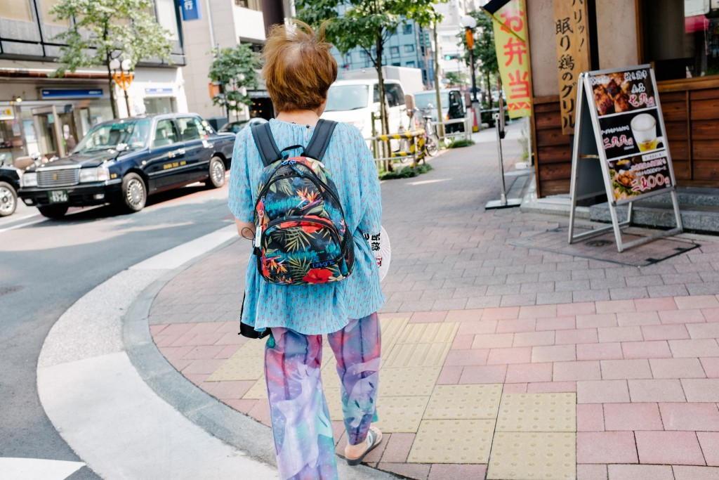 In Japan, no matter what you wear you are always in style.
