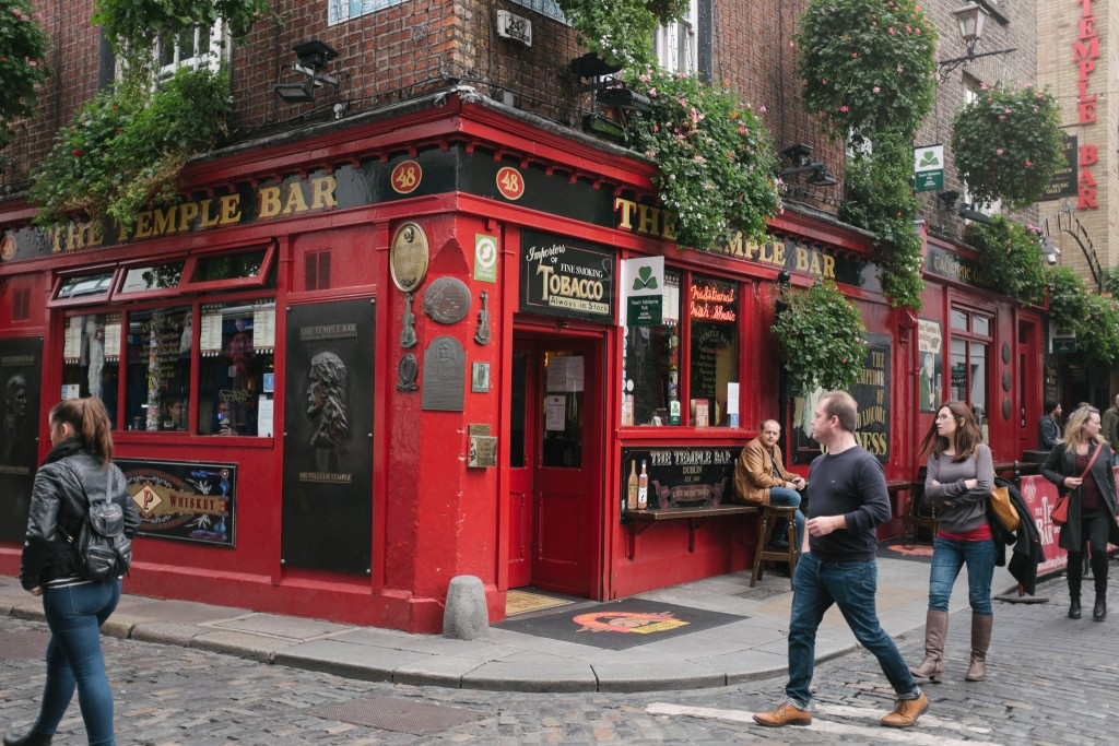 The old Temple Bar.