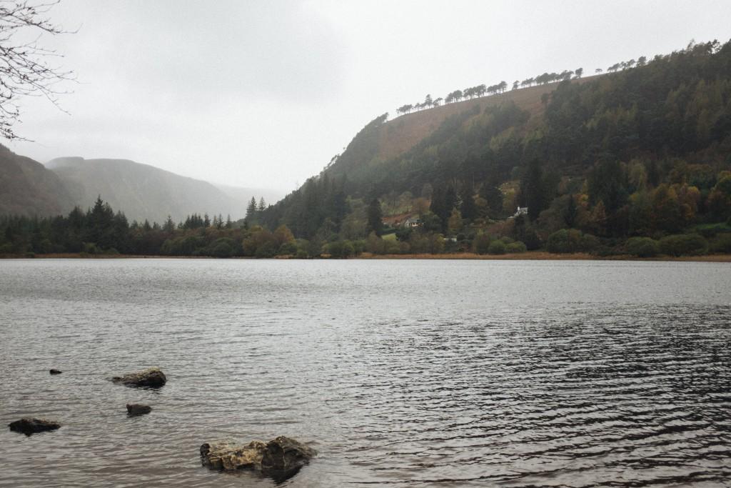 Glendalough lake.