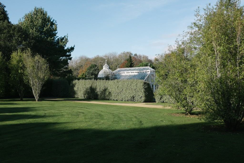 Gardens surrounding the castle.