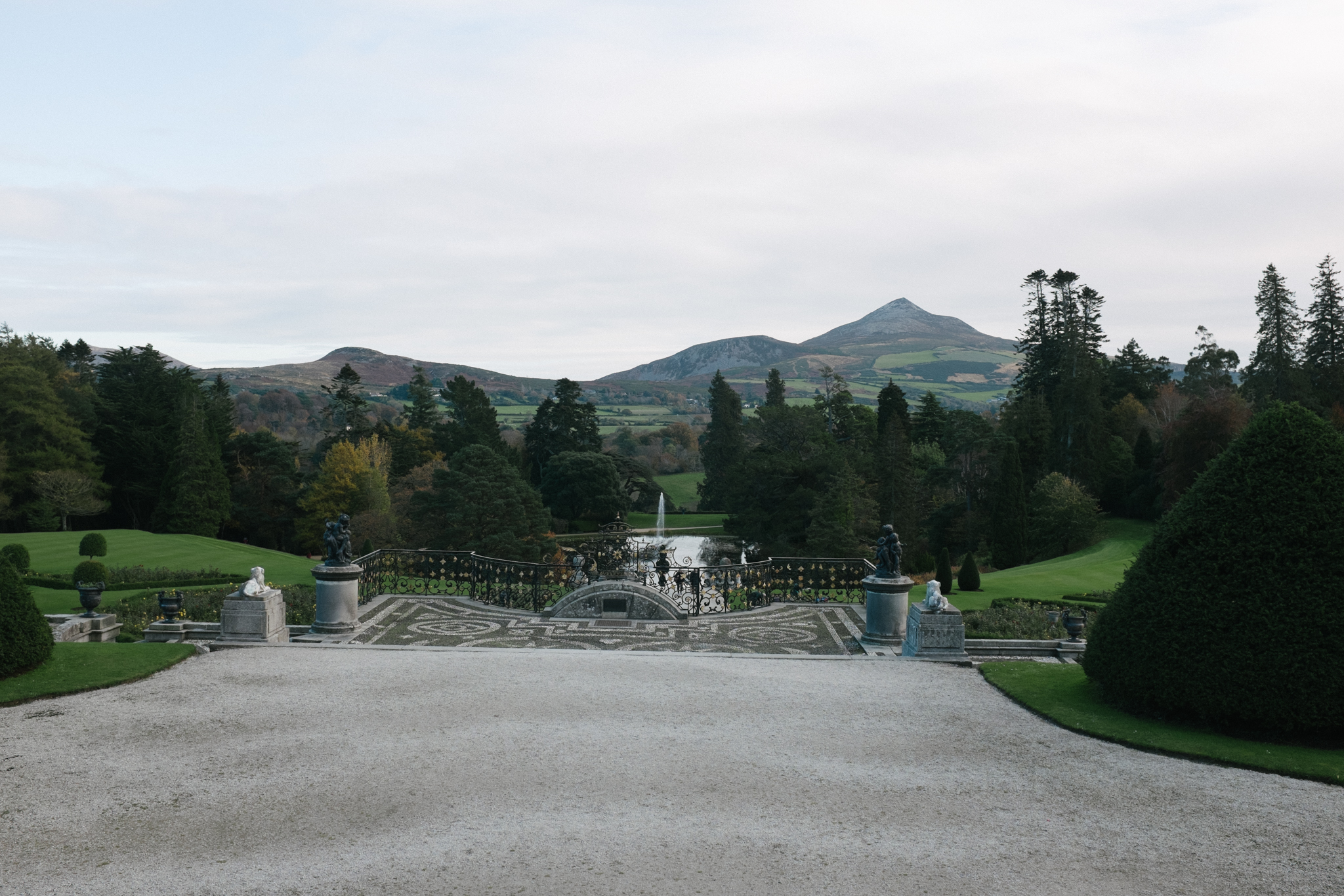 Powerscourt Estate gardens.