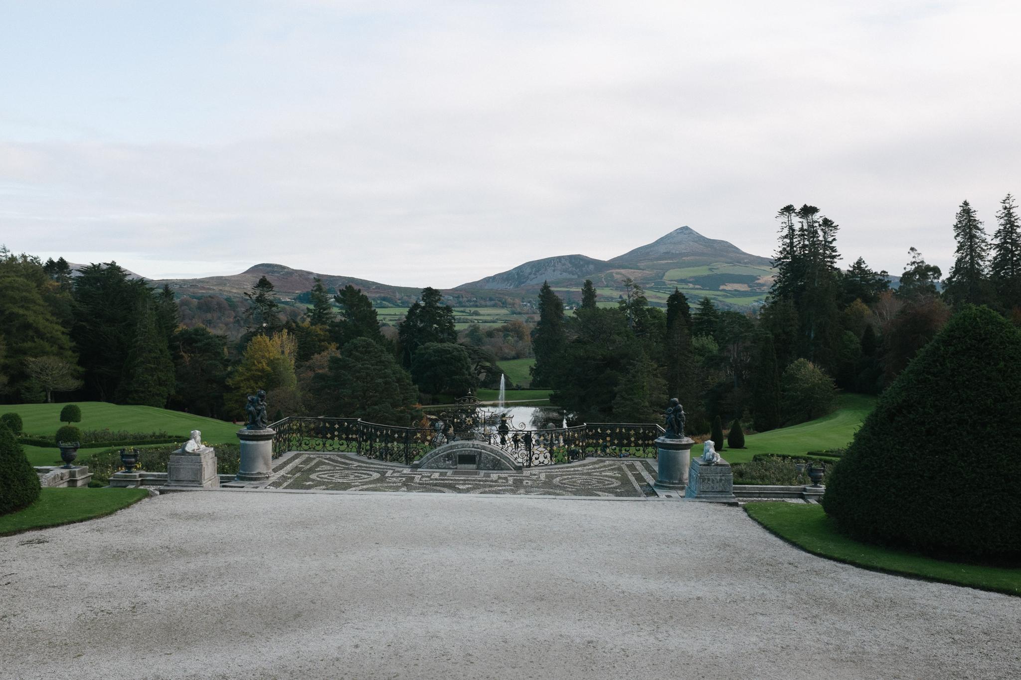 Powerscourt Estate gardens.