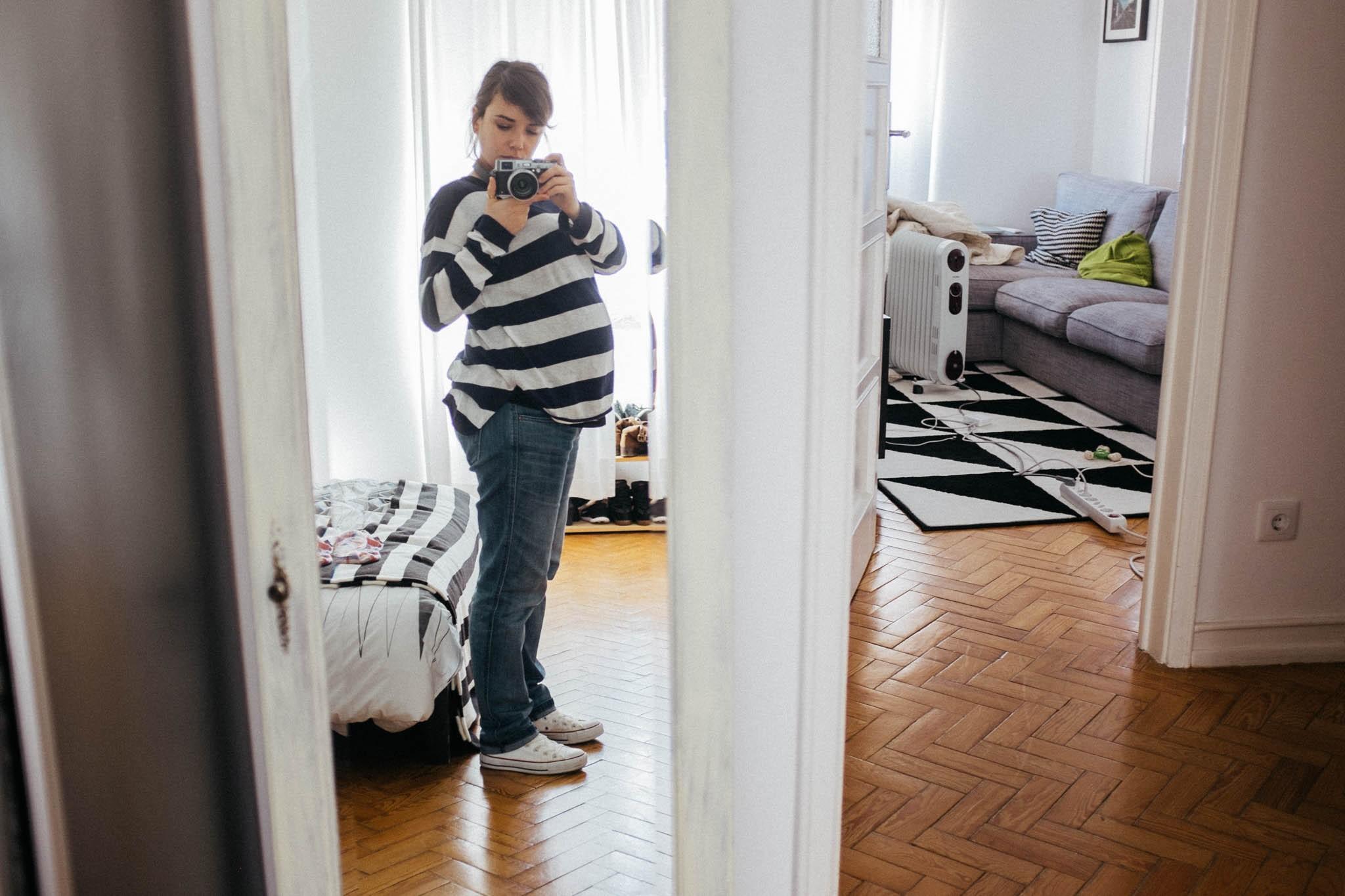 mirror shot.