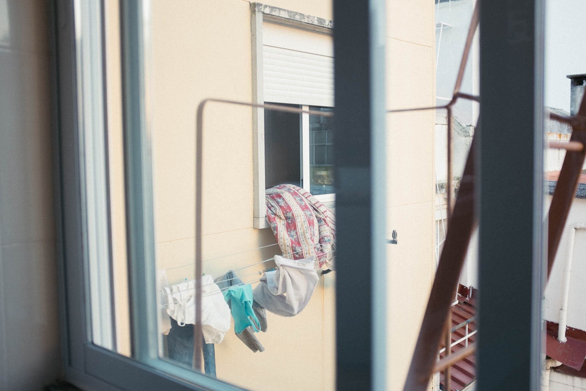 Neighboors' laundry.