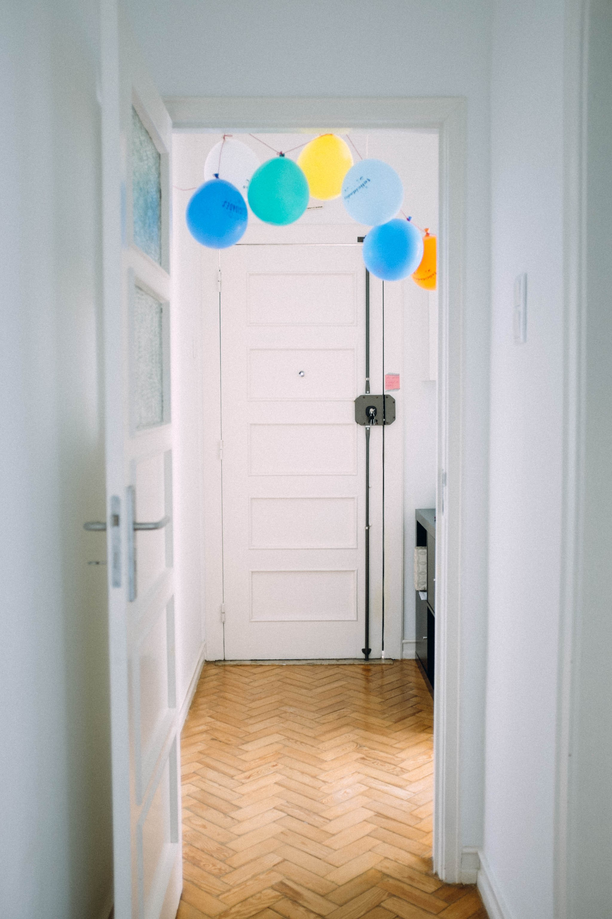 welcome balloons!